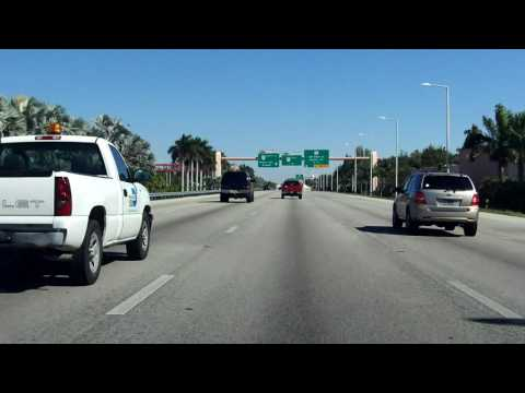 Don Shula Expressway (FL 874) northbound