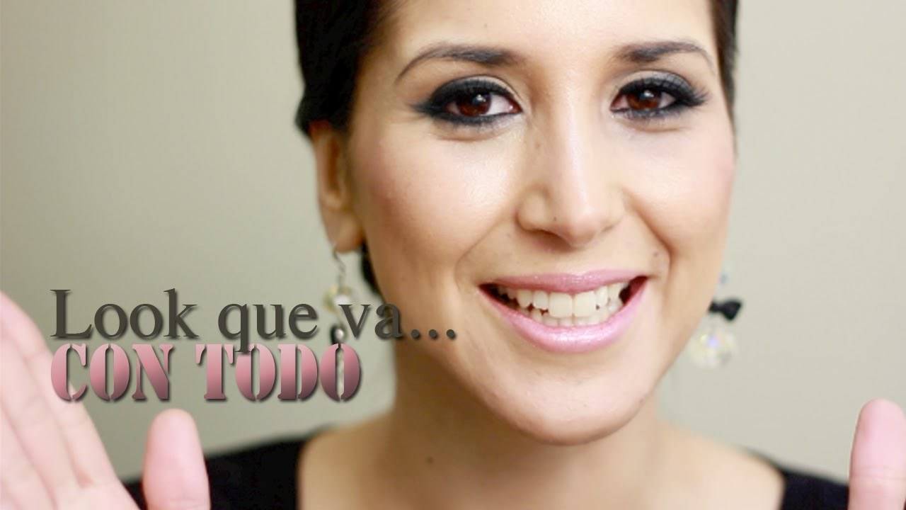 e262d2c47 Maquillaje que va con todo - Makeup that goes with everything - YouTube