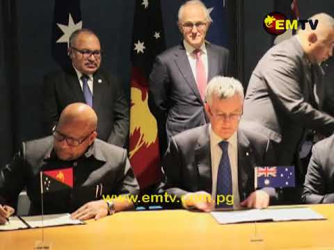 PNG, Solomon Islands and Australia sign MoU for Undersea Cable System
