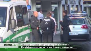 Atentat terorist într-un oraș din Germania. Un sirian s-a aruncat în aer într-un restaurant I