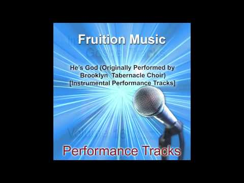 He's God (Medium Key) [Originally by Brooklyn Tabernacle Choir] [Instrumental Track] SAMPLE