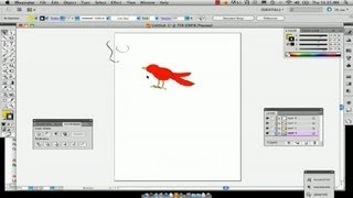 How to Draw Birds in Illustrator : Using Adobe Illustrator