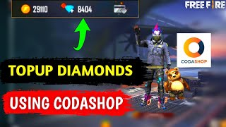 How To TopUp Diamonds In Free Fire Using Codashop || Purchase Diamonds In Free Fire Using Codashop