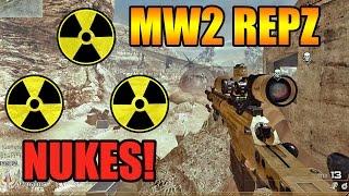 "[PC 60FPS] MW2 ""RepZ"": Double Gameplay Nuke Ballista & Ripper !"