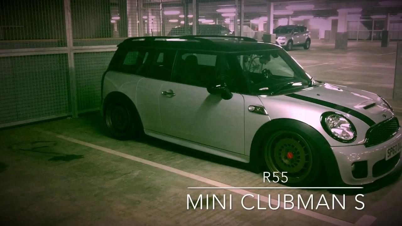 Stanced R55 Mini Clubman S