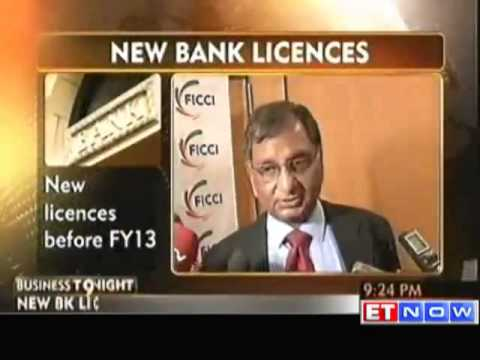 New Banking License Guidelines before FY13 : RBI Dy Governor