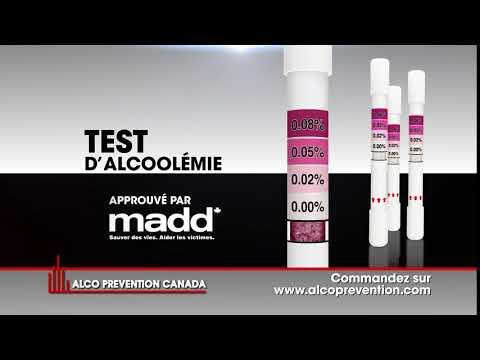 Publicité Alcograd par Alco Prévention Canada.