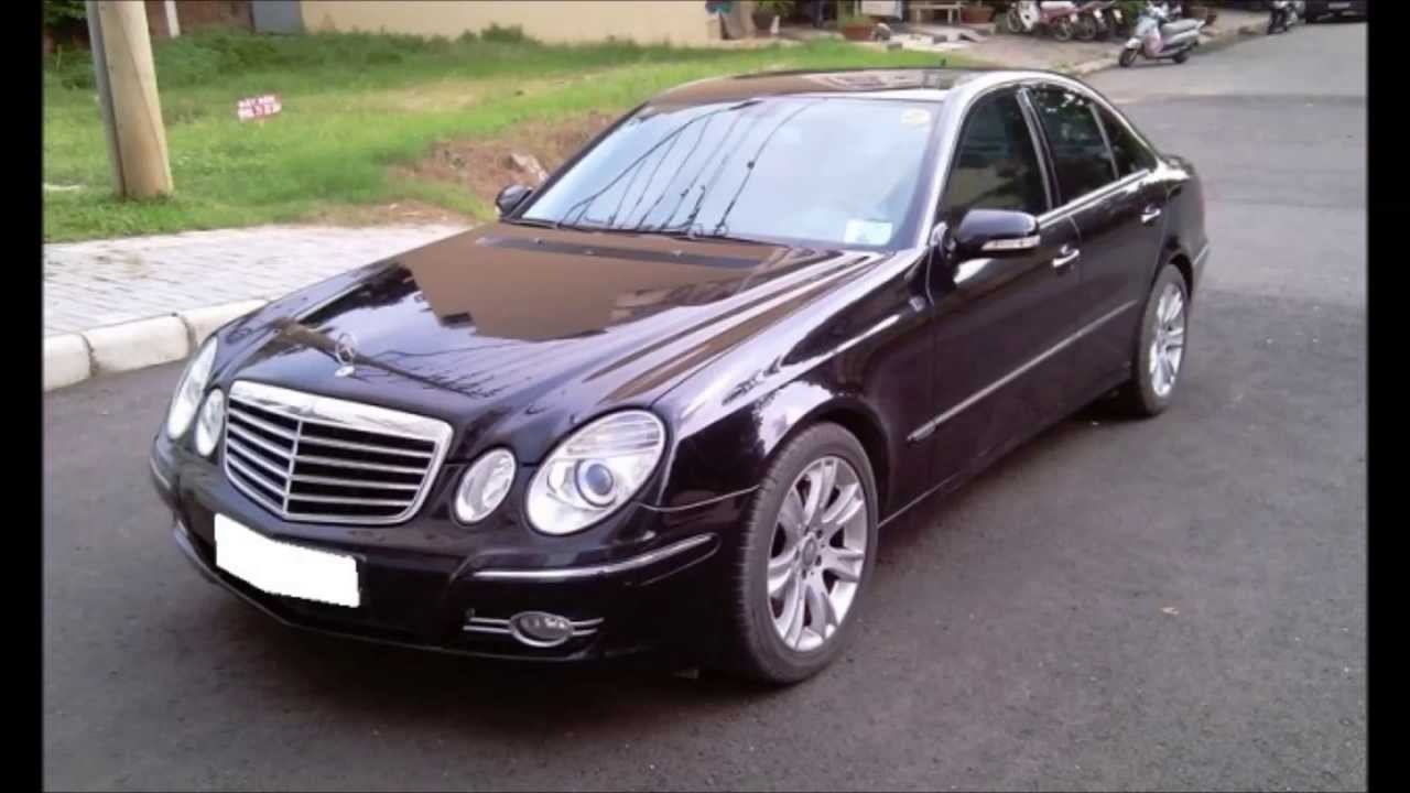 b n xe mercedes benz e class e200 2009 youtube. Black Bedroom Furniture Sets. Home Design Ideas