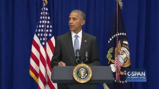 President Obama statement on Weekend Terrorist Attacks (C-SPAN)