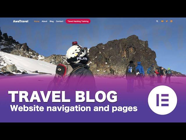 [Part 04/15] Make a Free WordPress Travel Blog Using Elementor
