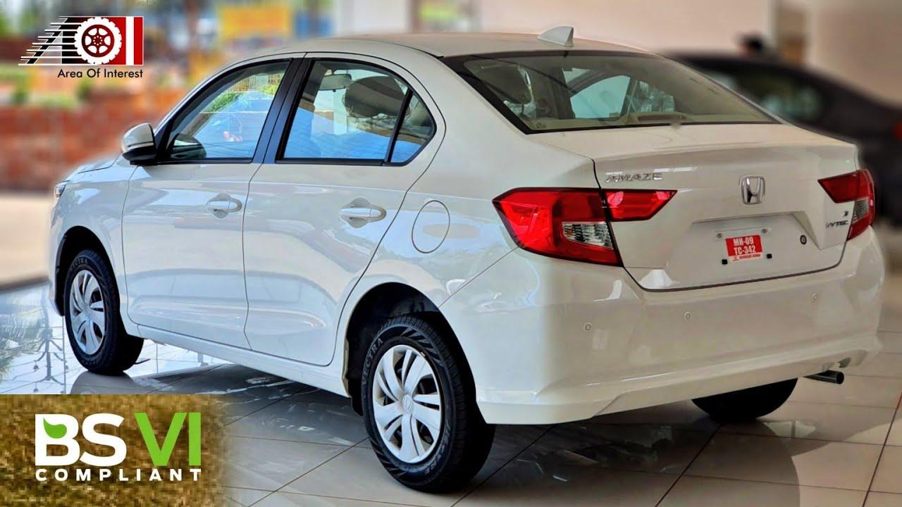 2020 Honda Amaze S BS6 (2nd Base Model) | On Road Price ...