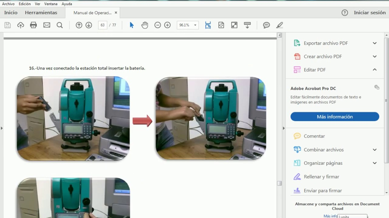 SOKKIA TOTAL STATION OPERATION MANUAL