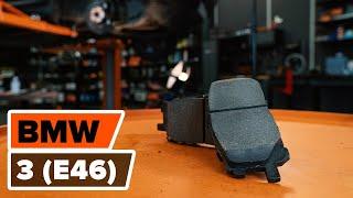 Como e quando mudar Calços de travão traseira e dianteiro BMW 3 (E46): vídeo tutorial