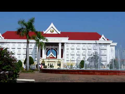 Asian Travel and Tours, Visiting and Sightseeing Around Vientiane Capital of Lao PDR,