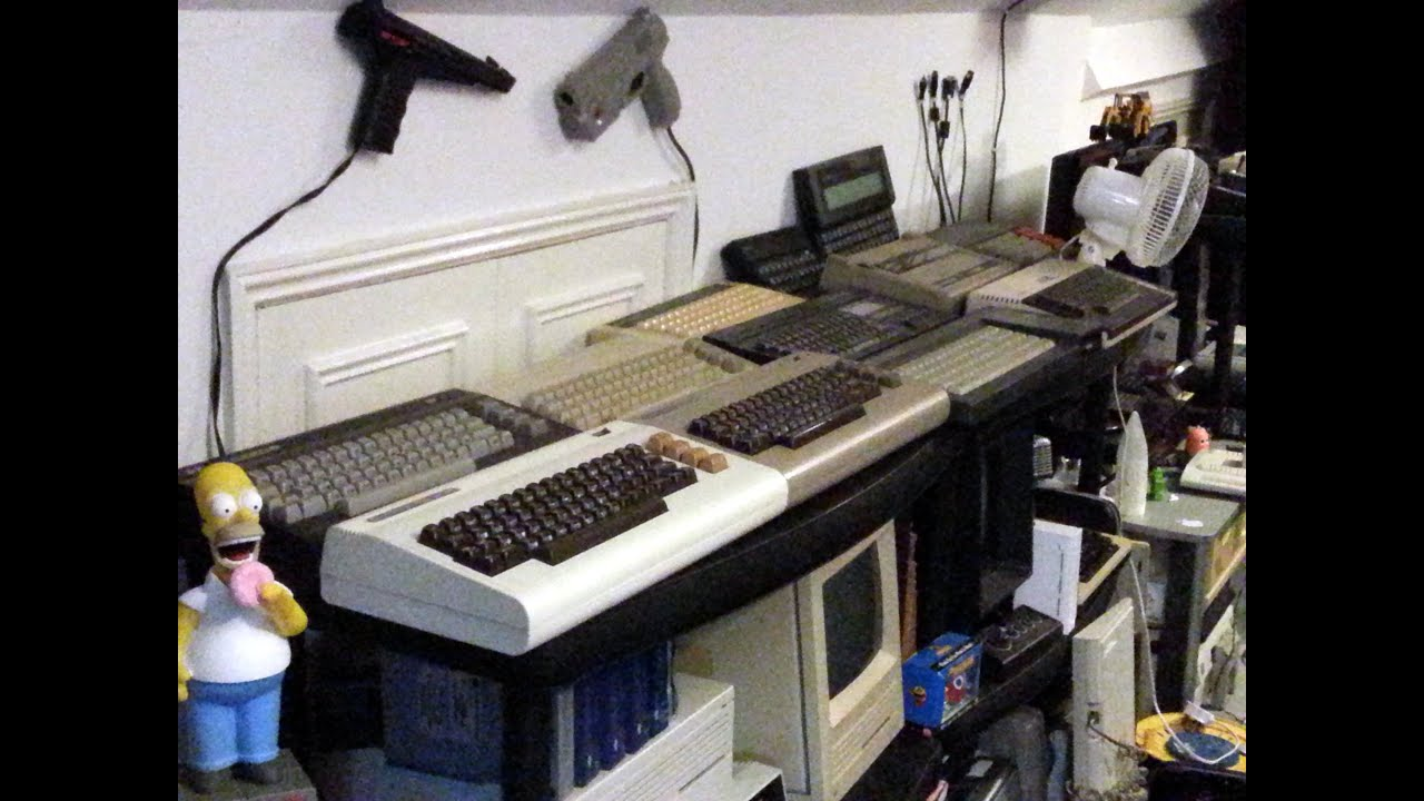 My Complete Vintage Computer, Console, Handheld and Retro Tech Collection  (Geek Lab tour June 14)
