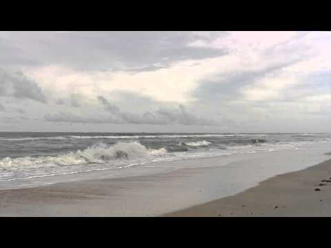 Ocean at Vilano Beach Florida