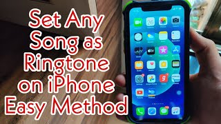 Download Set Any Song As a Ringtone on iPhone. 2021 Easy Method (No Computer)