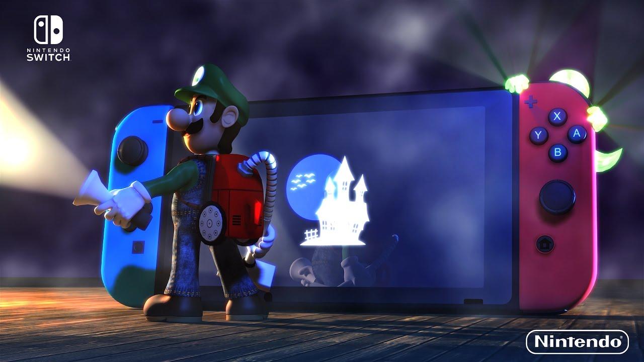Luigi S Mansion Switch Teaser