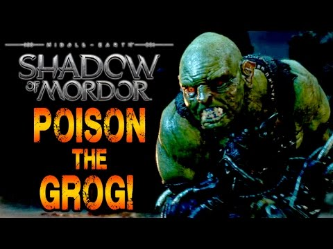 Shadow of Mordor Gameplay - The Outcasts! Poisoning the Grog in Stealth!