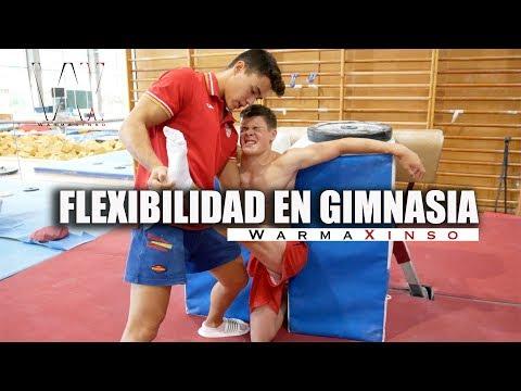Como trabaja la flexibilidad un gimnasta - WX