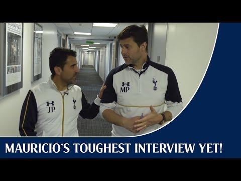 Mauricio's toughest interview yet!