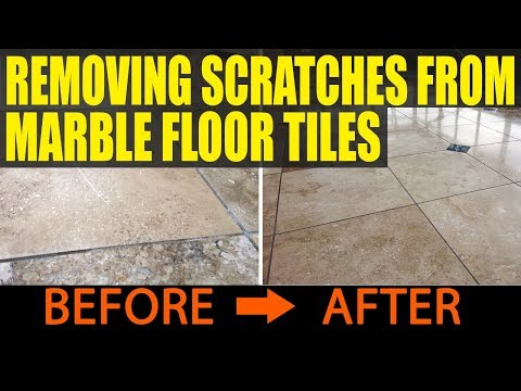 Removing Scratches From Marble Floor