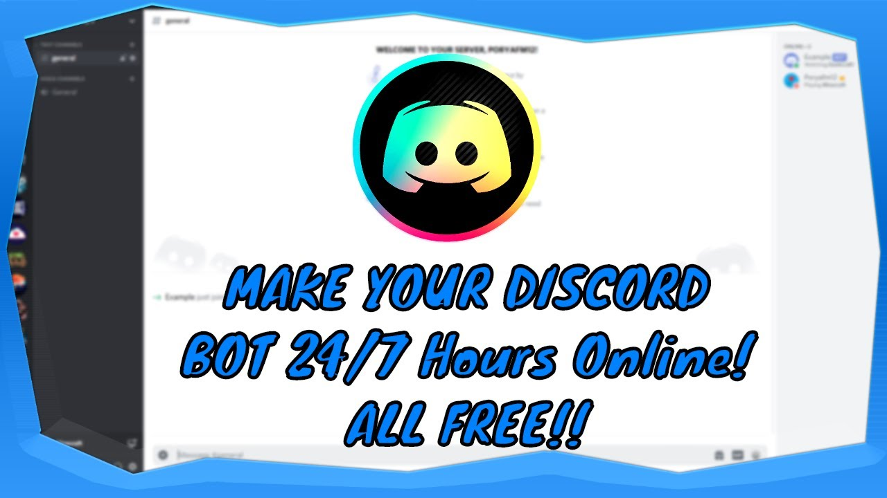 Host Your Discord Bot 24 7 Online All For Free Node Js Old Updated Video In Description Youtube