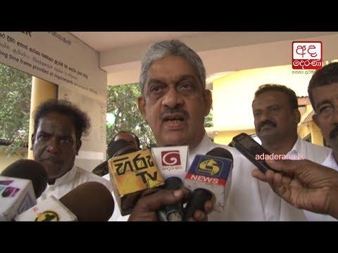 Field Marshall Sarath Fonseka rebukes Army Commander