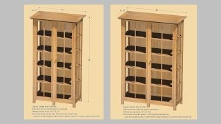 Making Display Cabinets Part 1: Andrew Pitts~furnituremaker