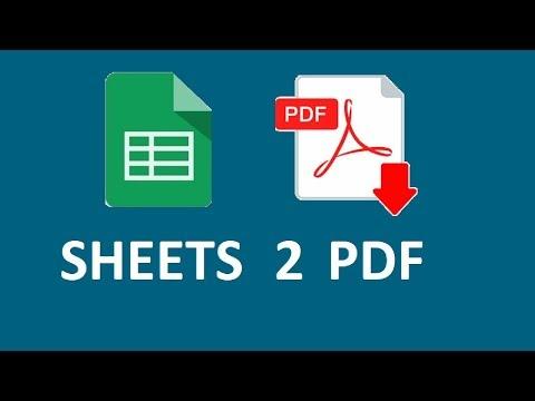 Create PDF Reports Using Google Sheets & Docs | X-ref