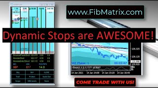 Jan 14 2021 Dynamic Swing Stops are Awesome! Live Trades fully Automated Forex Scalping Software