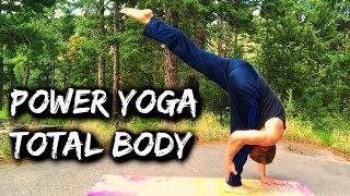 POWER YOGA - Total Body Flow - 30 Day Yoga Challenge