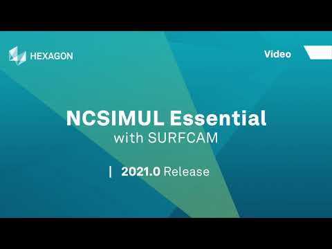 NCSIMUL Essential | SURFCAM