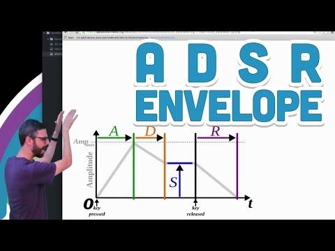 17.7: ADSR Envelope - p5.js Sound Tutorial