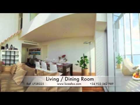 Luxury Penthouse for Short Term Rent, Barcelona   LFSR025