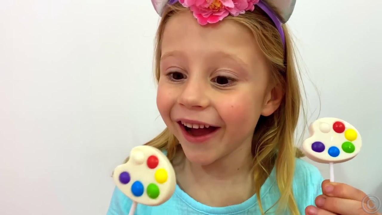 Nastya và bố câu chuyện cho trẻ em về đồ ngọt có hại