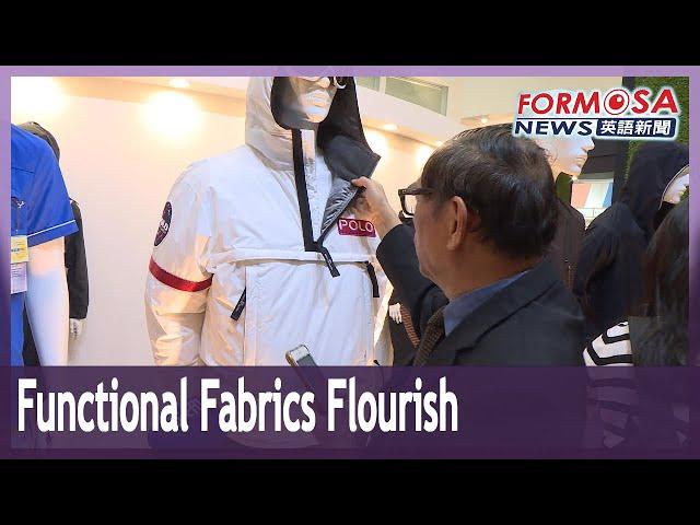 Functional fabrics flourish as the summer heat sets in