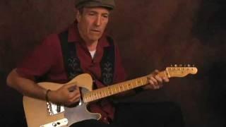 Learn Blues Guitar rhythms New Orleans tramp groove Freddie King style lesson
