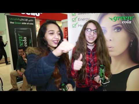 "Green Cola - Media "" The Open day of tasting "" Taj Mall - Amman.  by: Leopard Eyes Advertising"