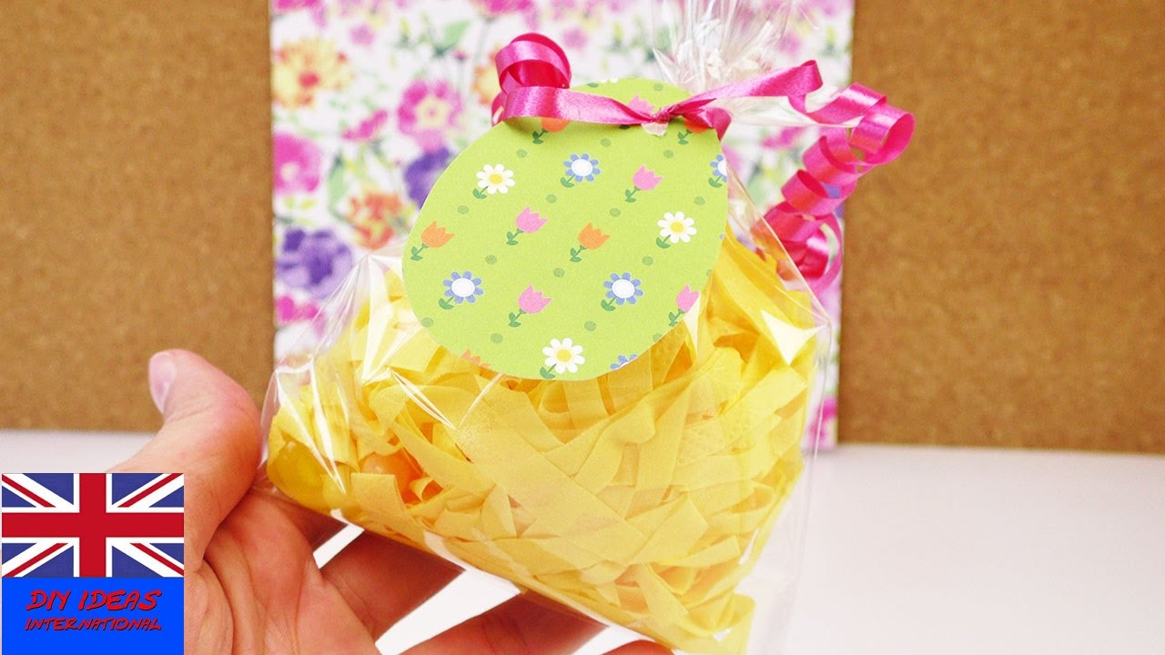 Gift bag idea for easter how to make this cute jelly bean present gift bag idea for easter how to make this cute jelly bean present negle Image collections