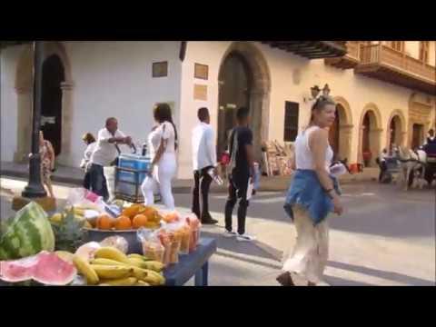 Walking tour Cartagena Colombia 2018