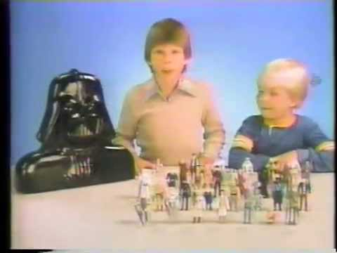 Christian Slater & Peter Billingsley 1980 Star Wars Toy Commercial