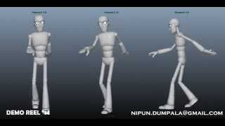 Animation demo reel 2014_Nipun