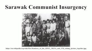 Sarawak Communist Insurgency