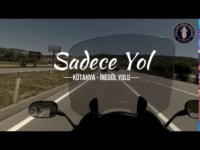 SADECE YOL // Motosiklet ile Kütahya - İnegöl Yolu // Haziran 2020 // Honda NT700V Deauville