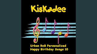 RnB Happy Birthday My Husband Personalized Song