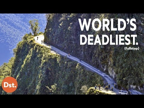 The Scariest Road in the Entire World: Bolivias Death Road!