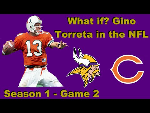 What if? Gino Torreta in the NFL: Episode 2 Vs Chicago: Defensive Game