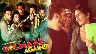 Golmaal Again Will Earn 300 CRORES At BOX OFFICE, Salman Katrina CUTE Moment On Tiger Zinda Hai Set