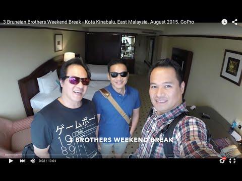 3 Bruneian Brothers Weekend Break - Kota Kinabalu, East Malaysia. August 2015. GoPro